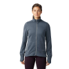 Mountain Hardwear Women's Norse Peak Full Zip Jacket - Medium - Light Zinc