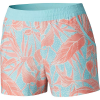 Columbia Women's Tidal 5 Inch Short - Small - Coastal Blue Dotty Palms Print