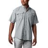 Columbia Men's Bahama II SS Shirt - 4XT - Cool Grey