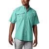 Columbia Men's Bahama II SS Shirt - 5X - Gulf Stream