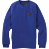 Burton Men's Westmate Polartech Crew - Medium - Royal Blue