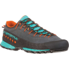 La Sportiva Women's TX4 Hiking Shoe - 37 - Carbon / Aqua