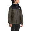 The North Face Boys' Warm Storm Rain Jacket - Large - New Taupe Green