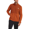 The North Face Men's TKA Glacier Full Zip Jacket - Medium - Papaya Orange / Picante Red