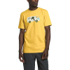 The North Face Men's Outdoor Free SS Tee - Large - Bamboo Yellow