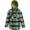 Burton Boys' Uproar Jacket - Large - Noreaster Plaid