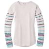 Smartwool Women's Shadow Pine Crew Sweater - Medium - Pink Nectar Heather