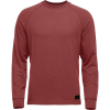 Black Diamond Men's Ridge Logo Crew Top - Medium - Red Oxide