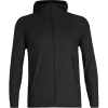 Icebreaker Men's Coriolis II Hooded Windbreaker Jacket - XXL - Black