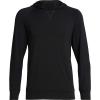 Icebreaker Men's Momentum Hooded Pullover - Large - Black