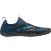 Adidas Men's Terrex CC Jawpaw II Slip-On Shoe - 13 - Legend Marine/Shock Cyan/Black