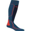Icebreaker Men's Ski+ Medium Over the Calf Sock - XL - Prussian Blue / Midnight Navy / Chili Red