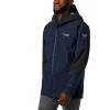 Columbia Men's Titanium Snow Rival Shell Jacket - XL - Collegiate Navy / Black
