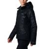 Columbia Women's Veloca Vixen Jacket - Small - Black Slopes Emboss / Black