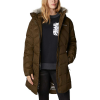 Columbia Women's Lay D Down II Mid Jacket - Small - Olive Green Dobby