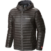 Columbia Titanium Men's OutDry Gold Down Hooded Jacket - Large - Black