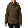 Columbia Women's Emerald Lake Parka - Large - Olive Green Heather / Olive Green