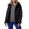 Columbia Women's Whirlibird IV Interchange Jacket - 1X - Black Crossdye / Black