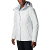 Columbia Women's Whirlibird IV Interchange Jacket - 1X - White Simple Lines Print / Cirrus Grey