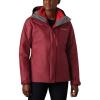 Columbia Women's Whirlibird IV Interchange Jacket - 2X - Beet Crossdye / Red Lily