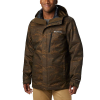 Columbia Men's Whirlibird IV Interchange Jacket - Small - Olive Green Mountains Jacquard Print