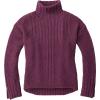 Smartwool Women's Spruce Creek Sweater - Medium - Sangria Heather