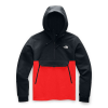 The North Face Men's Tekno Ridge Hoodie - Small - TNF Black / Fiery Red