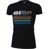 45NRTH Men's Team Stripe Merino T-Shirt - XL - Black