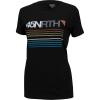 45NRTH Women's Team Stripe Merino T-Shirt - Small - Black