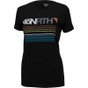 45NRTH Women's Team Stripe Merino T-Shirt - Large - Black