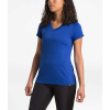 The North Face Women's HyperLayer FD SS V-Neck Top - Large - TNF Blue Heather