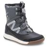 Merrell Youth Snow Crush Waterproof Boots - 6 - Grey / Black