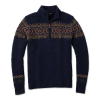 Smartwool Men's CHUP Hansker Half Zip Sweater - Small - Deep Navy Heather