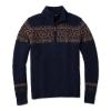 Smartwool Men's CHUP Hansker Half Zip Sweater - Medium - Deep Navy Heather