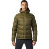 Mountain Hardwear Men's Mt. Eyak Down Hoody - Large - Combat Green