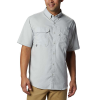 Columbia Men's Blood And Guts III SS Woven Shirt - Large - Cool Grey
