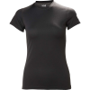 Helly Hansen Women's HH Tech T-Shirt - Medium - Ebony