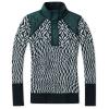 Smartwool Women's Ski Ninja Pullover Sweater - Medium - Frosty Green Heather