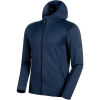Mammut Men's Nair Midlayer Hooded Jacket - XXL - Peacoat Melange