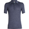 Icebreaker Men's Solace SS Polo - XXL - Midnight Navy Heather
