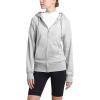 The North Face Women's Half Dome Full Zip Hoodie - Medium - TNF Light Grey Heather