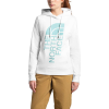 The North Face Women's Holiday Trivert Pullover Hoodie - Medium - TNF White / Bristol Blue