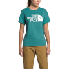 The North Face Women's Half Dome SS Tee - Small - Bristol Blue/TNF White Foil