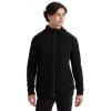 Icebreaker Men's Elemental LS Zip Hood - Small - Black