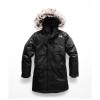 The North Face Kid's Arctic Swirl Down Jacket - Small - TNF Black / TNF Black