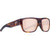 Costa Del Mar Men's Sampan Sunglass - One Size - Matte Tortoise/Copper Silver Mirror 580P