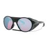 Oakley Clifden Sunglasses - One Size - Polished Black/Prism Snow Sapphire
