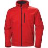 Helly Hansen Men's Crew Hooded Midlayer Jacket - Large - Alert Red