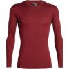 Icebreaker Men's 200 Oasis LS Crewe Top - Small - Cabernet