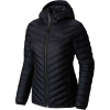 Mountain Hardwear Women's Micro Ratio Hooded Down Jacket - Small - Black